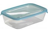 CURVER Dóza na potraviny Fresh&Go obdélník, 7,2 x 25,6 x 16,7 cm, 2l, modrá/transparentní, 00555-051