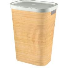 CURVER INFINITY 59L Koš na špinavé prádlo 43,7x60,2x35,1cm bambus 04761-B45