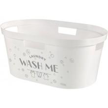 CURVER INFINITY Wasch Me koš na čisté prádlo 39 l, bílá 04762-W30-00