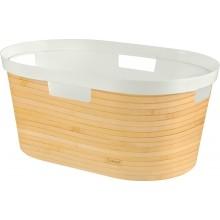 CURVER INFINITY Koš na čisté prádlo 39l, vzor bambus 04762-B45