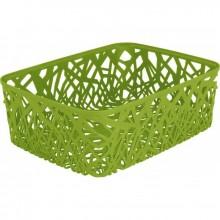 CURVER NEO A4 košík 38 x 29 x 13 cm zelený 04161-598