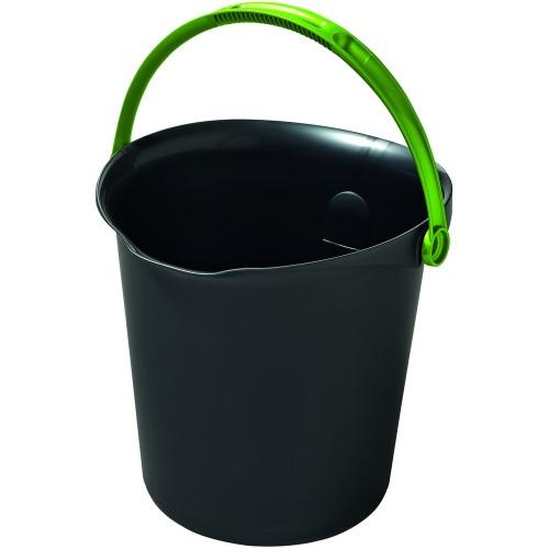CURVER kbelík 9 l tmavě šedá 02338-561