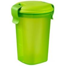 CURVER LUNCH & GO L 0,6L 11x11x17cm hrnek zelený 00769-C52