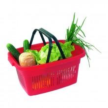 CURVER Nákupní košík plastový, 47 x 23 x 31,5 cm, červená, 02686-416