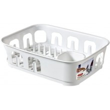CURVER odkapávač na nádobí Essential, bilý 00743-059