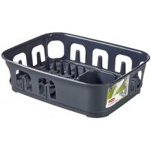 CURVER odkapávač na nádobí Essential, antracit 00743-308