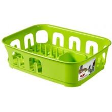 CURVER odkapávač na nádobí Essential, zelený 00743-598