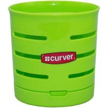 CURVER odkapávač na příbory 12 x 12 cm zelený 03410-598