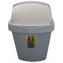 VÝPRODEJ CURVER Odpadkový koš ROLL TOP, 34,9 x 29,2 x 56 cm, 25 l, luna, R__03976-856 BEZ VÍKA