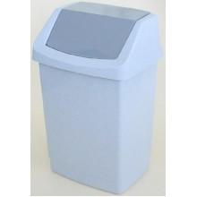 CURVER Odpadkový koš CLICK, 32,5 x 26,5 x 50,5 cm, 25 l, luna, 04044-591