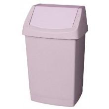 CURVER Odpadkový koš CLICK, 32,5 x 26,5 x 50,5 cm, 25 l, savana, 04044-844