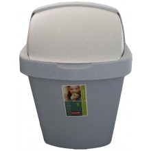 CURVER Odpadkový koš ROLL TOP, 24 x 21,5 x 41,5 cm, 10 l, luna, 03974-856