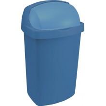 CURVER Odpadkový koš ROLL TOP, 24 x 21,5 x 41,5 cm, 10 l, modrý, 03974-266