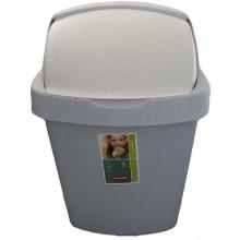 CURVER Odpadkový koš ROLL TOP, 40,7 x 30,6 x 72,7 cm, 50 l, luna, 03977-856