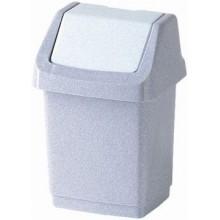 CURVER Odpadkový koš CLICK, 22,9 x 18,9 x 38,1 cm, 9 l, luna, 04042-591