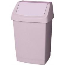 CURVER Odpadkový koš CLICK, 28 x 23,5 x 43,8 cm, 15 l, savana, 04043-844