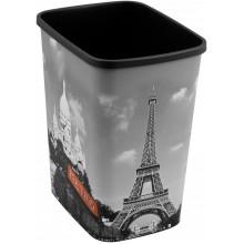 CURVER Odpadkový koš Flipbin PARIS, 39 x 32 x 25 cm, 25 l, bez víka, 02174-P35
