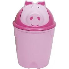 CURVER Odpadkový koš PIG, 26,5 x 26,5 x 39,5 cm, 10 l, 07121-902