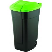 CURVER popelnice, 88 x 52 x 58 cm, 110 l, zelená, 12900-847
