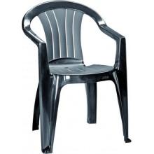 CURVER SICILIA zahradní židle, grafit 17180048