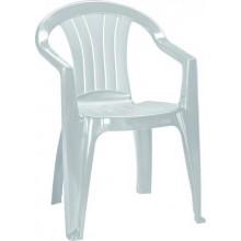 CURVER SICILIA zahradní židle, 56 x 58 x 79 cm, světle šedá 17180048