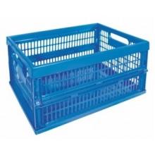 CURVER skládací přepravka, 47 x 34 x 24 cm, 50 l, modrá, 04117-082