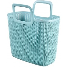 CURVER Knit nákupní taška 25 l, světle modrá 03672-X60