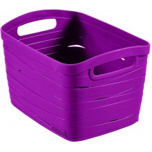 CURVER úložný box RIBBON S, 18 x 26 x 21 cm, 8 l, fialová, 00718-437