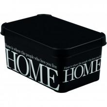 CURVER úložný box DECO - S - HOME, 29,5 x 13,5 x 19,5 cm, 04710-H09