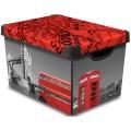 CURVER box úložný dekorativní L LONDON 04711-L08