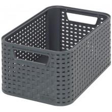 CURVER STYLE S úložný box 28,5 x 12,9 x 19,4 cm antracit 03614-308