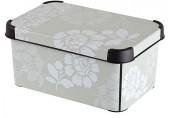 CURVER box úložný dekorativní S ROMANCE, 29,5 x 13,5 x 19,5 cm, 04710-D64