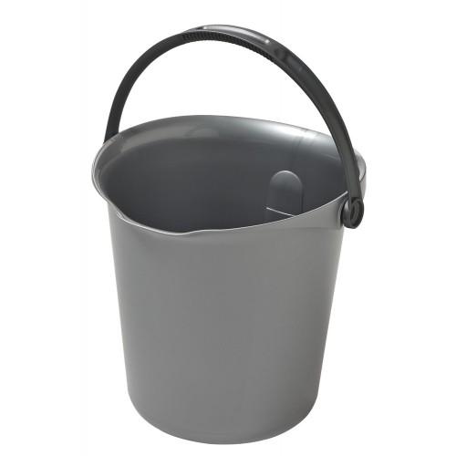 CURVER kbelík 9 l stříbrná 02338-212