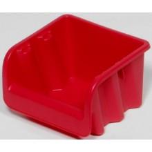 CURVER zásobník 7,5 x 10,8 x 11,5 cm, č. 1, červená, 04951-586