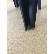 VÝPRODEJ CURVER MALLORCA zahradní židle, 56 x 58 x 79 cm, grafit 17180335 POŠKOZENÁ NOHA