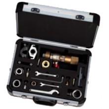 Danfoss Přístroj pro údržbu ventilů RA, Demoblock pro výmněnu horních dílů 013G3085