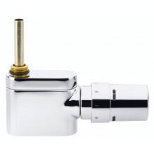 Danfoss Sada VHX-Mono přímý designový radiátorový ventil a RTX hlavice chrom 013G4382