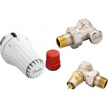 Danfoss Set - termostatická hlavice RAE 5054, šroubení RLV-S a ventil RA-N 013G5173