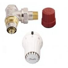 "Danfoss set RA-N rohový ventil 1/2"" + RAE 5054 termostatická hlavice 013G5093"