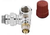 """Danfoss RA-NCX15 ventil radiátorový úhlový levý s přednastavením 1/2"""" 013G4240"""
