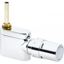 Danfoss Sada VHX-Mono přímý designový radiátorový ventil a RAX hlavice chrom 013G4282