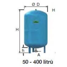 Refix expanzní nádoba DC 400/10 modrá