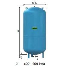 Refix expanzní nádoba DC 600/10 modrá