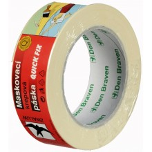 Den Braven - maskovací krepová páska 50mm x 50m B7041RLV