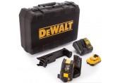 DeWALT Aku křížový laser 10,8 V 2,0 Ah zelený paprsek DCE088D1G
