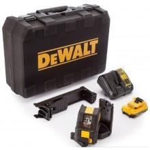 DeWALT DCE088D1G Aku křížový laser 10,8 V 2,0 Ah zelený paprsek