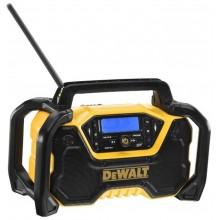 DeWALT Aku Rádio napájené 230 V nebo XR baterií 10,8 V, 12 V a 18 V a FLEXVOLT DCR029-QW