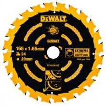 DeWALT DT10300 EXTREME Pilový kotouč 165 x 20 mm, 24 zubů