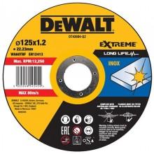 DeWALT řezný kotouč na nerez 125 x 22.2 x 1.2 mm DT43904