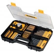 DeWALT 100-dílná sada bitů a vrtáků DT71569